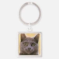 Chartreux Cat Keychains