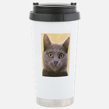 Chartreux Cat Travel Mug