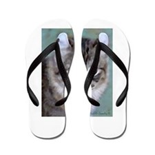 American Curl Cat Flip Flops
