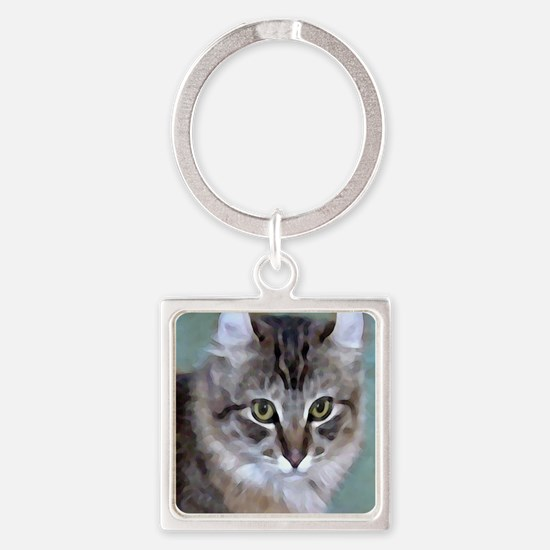 American Curl Cat Keychains