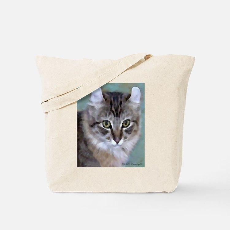 American Curl Cat Tote Bag