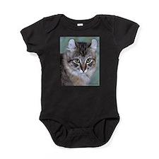 American Curl Cat Baby Bodysuit