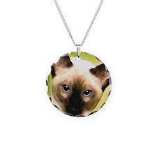 Siamese Cat Necklace