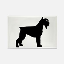 Schnauzer Dog Rectangle Magnet (10 pack)