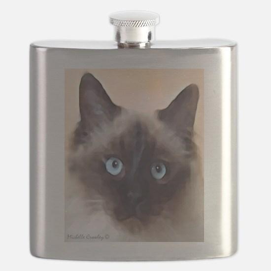 Ragdoll Cat Flask