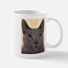 Russian Blue Cat Mugs
