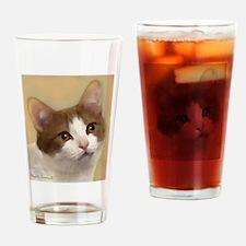 Munchkin Cat Drinking Glass