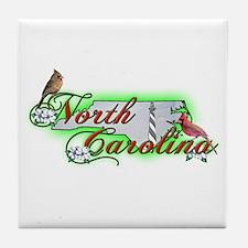 North Carolina Tile Coaster