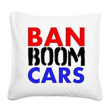 Ban Boom Cars Square Canvas Pillow