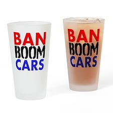 Ban Boom Cars Drinking Glass