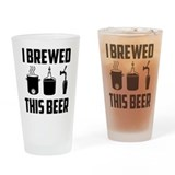 Beer brewed Pint Glasses