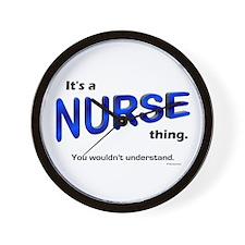 Nurse Thing Wall Clock