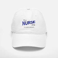 Nurse Thing Baseball Baseball Cap