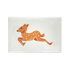 Running Deer Buck Magnets