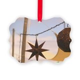 Turks and caicos beach ornaments Picture Frame Ornaments