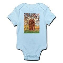 Spring and Ruby Cavalier Infant Bodysuit