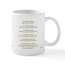 Buddha quote & Golden Ohm Coffee Mug