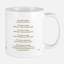 Buddha quote & Golden Ohm Mug