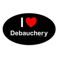 Debauchery Decal