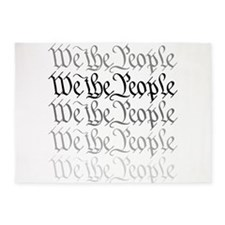 We the People.png 5'x7'Area Rug