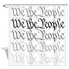 We the People.png Shower Curtain