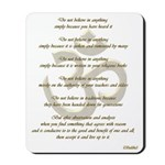 Golden Buddha Ohm Mousepad