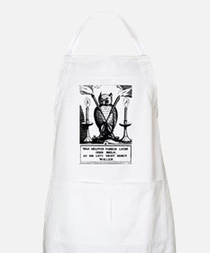 Alchemical Owl Diagram BBQ Apron