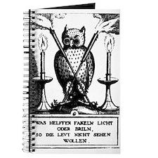 Alchemical Owl Diagram Journal