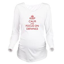 Unique Bravado Long Sleeve Maternity T-Shirt