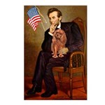Lincoln's Ruby Cavalier Postcards (Package of 8)