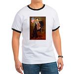 Lincoln's Ruby Cavalier Ringer T