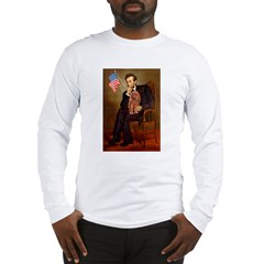 Lincoln's Ruby Cavalier Long Sleeve T-Shirt