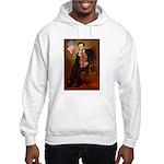 Lincoln's Ruby Cavalier Hooded Sweatshirt