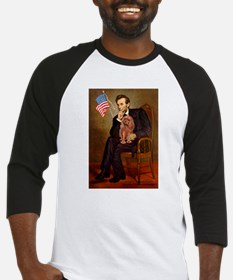Lincoln's Ruby Cavalier Baseball Jersey