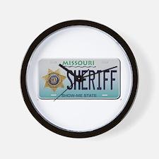 Unique Deputy sheriff Wall Clock
