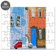Cute Lambretta Puzzle