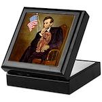 Lincoln's Ruby Cavalier Keepsake Box