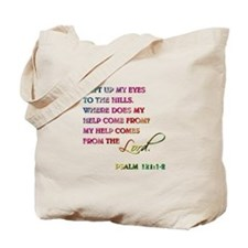 PSALM 121:1-2 Tote Bag