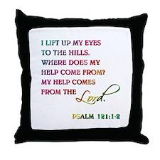 PSALM 121:1-2 Throw Pillow
