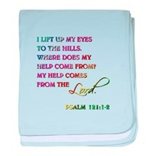 PSALM 121:1-2 baby blanket