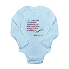PSALM 121:1-2 Long Sleeve Infant Bodysuit