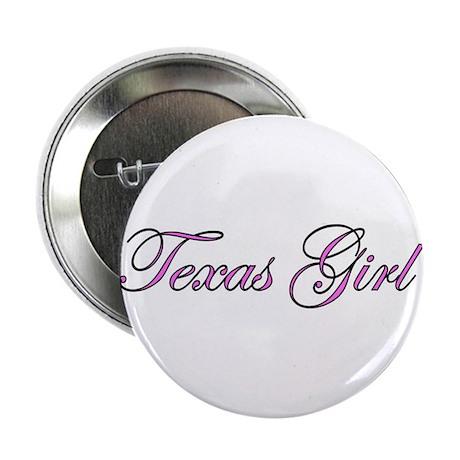 Texas Girl Button