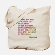 PSALM 18:2 Tote Bag