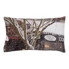 Horseshoe Bay. Heavy snowfall accents  Pillow Case