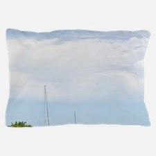 Cleveland. Boats along Bass Canal in R Pillow Case