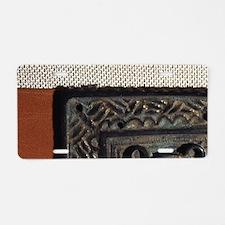 Visigothic belt buckle. Bro Aluminum License Plate