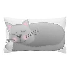 sleeping kitty Pillow Case