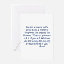 Divine Book Greeting Cards