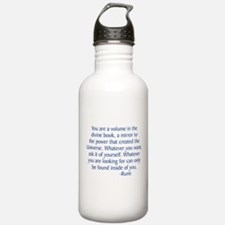 Divine Book Water Bottle