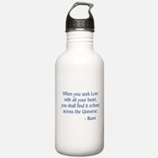 Seek Love Water Bottle
